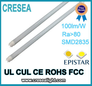 Single Pin Aluminum PC T8 Fluorescent Tube Lamp pictures & photos