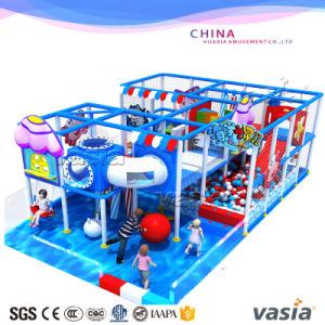 Vasia Indoor Children Plastic Playground for Sale pictures & photos
