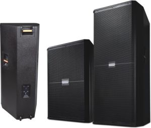 Double 15′′ Speaker Powered Stage Floor Monitor Studio (SRX 725) pictures & photos