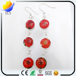 Beautiful Stylish Appearance 925 Silver High Purifier Amber Earrings pictures & photos