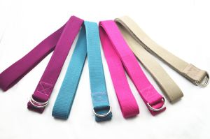 Custom High Quality Biodegradable Yoga Straps pictures & photos