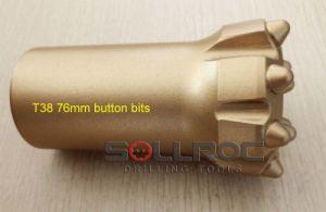 T38 64mm, T38 76mm, T38 89mm Button Bit pictures & photos
