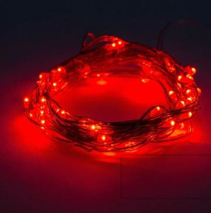 Fairy String Lights 20 Micro LEDs 6.6 Feet Silver Wire Lights for Home Party Decoration 8 Mix Colors pictures & photos