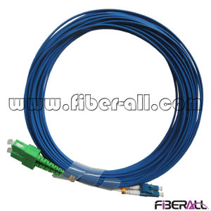Single Mode Fiber Optical Jumper Sc APC to LC PC pictures & photos