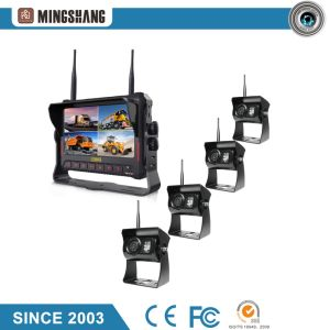 "Wireless Camera System, 7"" Quad Recording Car Monitor with IP69k Rear View Camera pictures & photos"