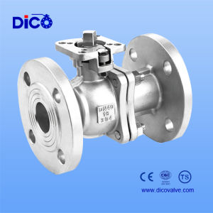 GB Stainless Steel Floating Ball Valve with New Mounting Pad pictures & photos