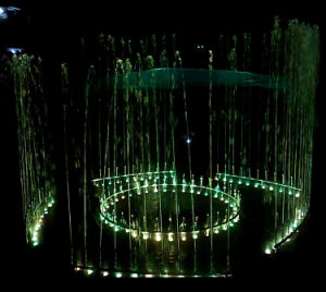 LED Color Changeable Direct Jetting Water Stainless Steel Fountain pictures & photos
