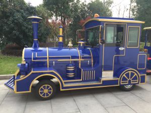 Diesel Powered Trackless Tourist Train pictures & photos