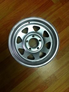 Galvanized Trailer Steel Wheel 14X6 pictures & photos