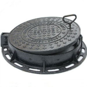 Hot Sale En124 D400 Cast Iron Manhole Cover pictures & photos