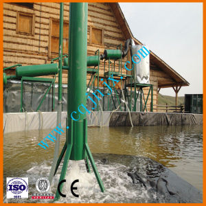 Black Waste Motor Engine Lubricant Oil Recycling to Diesel Gasoline Grade Oil Refining Machine pictures & photos