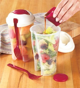 Manax Salad-to-Go Cup with Dressing Container Salad Cup 2 Go for on The Go pictures & photos