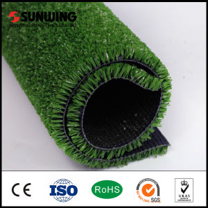 Flat Shape 10mm Tennis Sport Artificial Grass with SGS pictures & photos