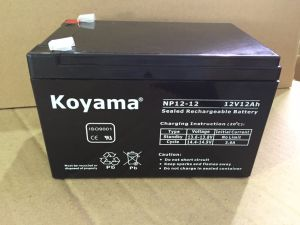UPS 12V12ah Rechargeable Battery for UPS pictures & photos