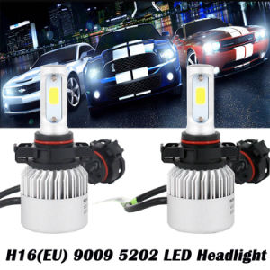 2017 Brightest H7 S2 LED Headlight 8000lm LED Auto Headlight Plug and Play with Best Lighting Effect pictures & photos