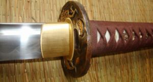 Handmade Dragon Tiger Katana Sword/Japanese Real Samurai Sword pictures & photos