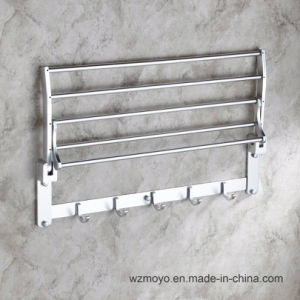 Towel Rack with Rod and Hooks for The Bathroom pictures & photos