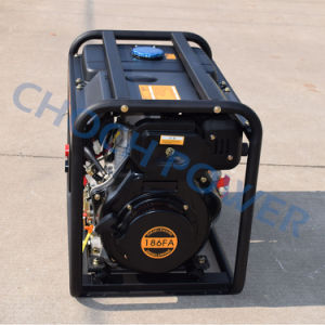 Diesel Portable 2kVA Welding Generator with Ce Approval pictures & photos