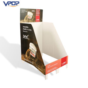Cheap Price Corrugated Counter Display Standee for Promotion pictures & photos