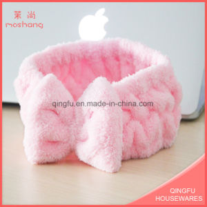 Multifunctional Coral Fleece Headband Girl Hair Band pictures & photos