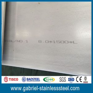 Hot Rolled 10mm Thick Standards Size 4X8 Stainless Steel Plate 304 pictures & photos