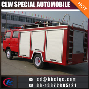 Factory Sales Price Myanmar 3t Water Fire Truck Powder Fire Truck pictures & photos