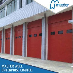 PU Foam Panel Lift up Industrial Sectional Door pictures & photos
