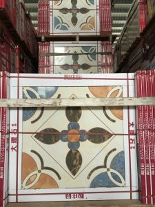 Yellow, Gold Full Polished Glazed Floor Tile Lower Price pictures & photos