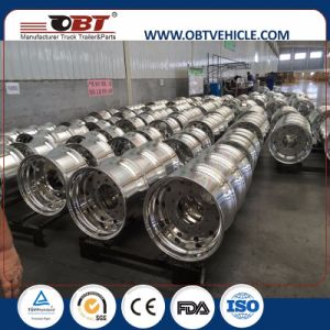 Obt Truck Trailer Forged Aluminum Rim Wheel for Hot Sale pictures & photos
