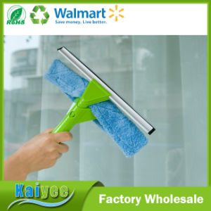 Flexible Window Squeegee with Microfiber Scrubber and Spray Bottle pictures & photos
