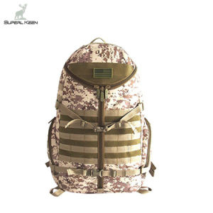Tactical Camouflage Molle Combat Travelling Camping Hiking Mountain Climbing Hunting Sports Waterproof Military Assault Backpack pictures & photos