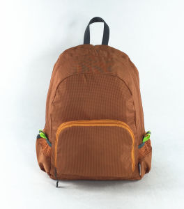 Three Color Foldable School Outdoor Travel Sports Backpack pictures & photos