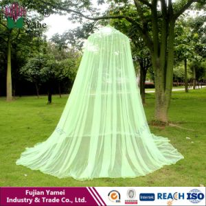100% Polyester Round Circular Mosquito Net for Double or Single Bed pictures & photos