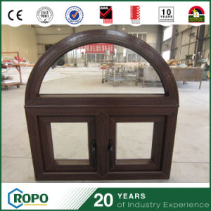 Vinyl Profile Wood Casement Windows, PVC Windows and Doors pictures & photos
