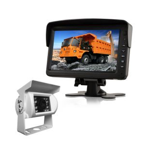 Color Digital Screen 2 AV Input 7 Inch Stand Alone Car TFT LCD Monitor with Touch Key pictures & photos