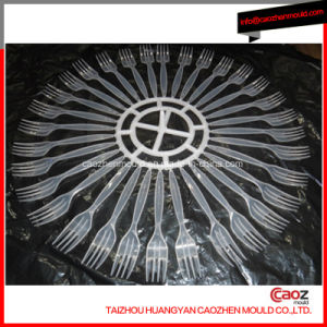 Plastic Disposable Injection Cutlery/PP Fork Mold pictures & photos
