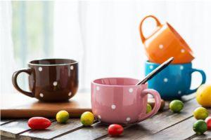 Promotional Glazed Corlor Stoneware 16oz Coffee Mug pictures & photos