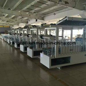 Indoor Furniture Decorative TUV Certificated Mingde Brand Woodworking Wrapping/Gluing Machines pictures & photos