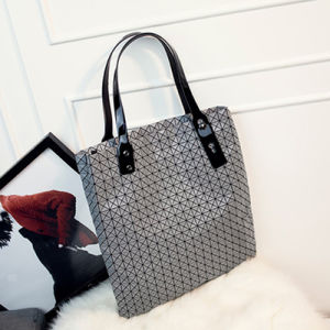 Light Grey Silica Gel Shoulder Bag (A0116-4)