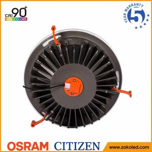5-Year Warranty CRI90+ 40W Citizen COB LED Ceiling Downlight with Osram Driver pictures & photos