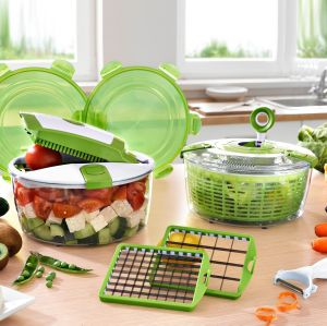Hot Selling Plastic Chopped Manual Salad Maker, Plastic Master Slicer pictures & photos