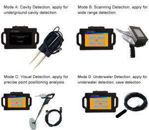 V4-20 Long Range Multifunction Handheld Deep Ground Metal Gold Detector pictures & photos