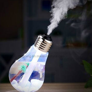 Seven-Color Light Bulb Humidifier 400ml Aroma Air Humidifier pictures & photos