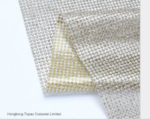 Glass Bead Sheets Hot Fix Crystal Sheets with Glue Wholesale (TP-040 3mm) pictures & photos