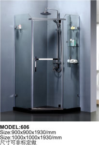 Aluminum Frame Sliding Shower Cabin Door Glass Shower Enclosure pictures & photos
