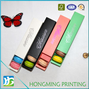 Wholesale Drawer Design Paper Macaron Packaging pictures & photos