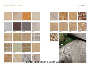 Building Material 300X300mm Rustic Porcelain Tile (TJ3230) pictures & photos