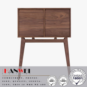 High Quality 2doors Wooden Oak/Walnut/Beech Chest Wooden Furniture with Storage Space pictures & photos