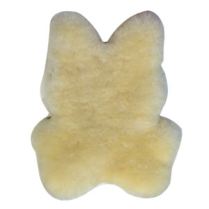 Cuddle Sheepskin Bunny Toy Sheepskin Toy for Baby pictures & photos