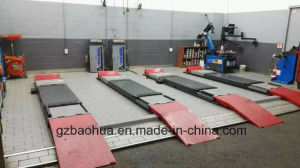 3.5 Tons Wheel Alignment Scissor Lift on Ground Type pictures & photos